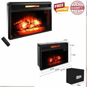 Fireplace Electric Insert Heater 26 Embedded Fireplace Insert Remote Control