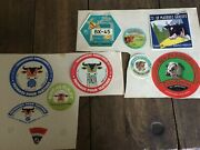 Lot 10 Tags Antique Of Camembert Cheese Vintage Old Papers Demonstrates