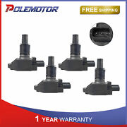 4x Ignition Coils For 04-11 Mazda Rx-8 R3 Gt Gs 1.3l Coupe 4-door Replaces Uf501