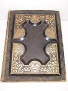 Vintage Illustrated Holy Bible Holmanand039s Edition 1881 Gold Edge Rare