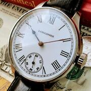 750 Oh Already Mens Watch Good Operation Longines Pocket Watches Antique