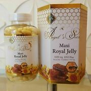 Angels Secret Maxi Royal Jelly 1650 Mg Concentrated Formula Anti Aging 365 Soft