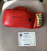 Muhammad Ali Autographed Everlast Boxing Glove W/ Certificate Of Authenticity
