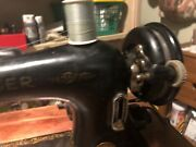 Singer Model 66 Sewing Machine - Vintage 1941 With Cabinet