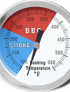 Dozyant 3 Bbq Thermometer Temperature Gauge For Charcoal Grill Pit Smoker 2pk
