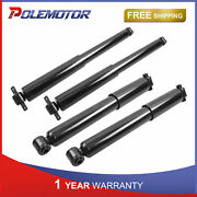 4x Front And Rear Left Right Shock Absorbers For 88-99 Chevy Gmc K1500 K2500 4wd