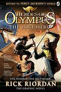 The Lost Hero The Graphic Novel Heroes Of Oly, Riordan=-
