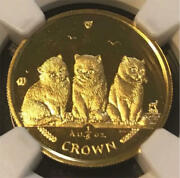 Rare 25 Sheets 2006 Isle Of Man Cat Coin Gold Coin Ms67
