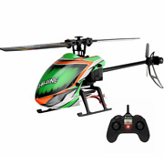 Rc Helicopter Rtf 6-axis Gyro Altitude Hold Flybarless Eachine E130 2.4g 4ch Rtf