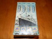 Floating Palaces Aande Titanic Andrea Doria Normandie Queen Mary 4 Vhs Set New