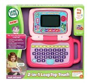 Leapfrog Leaptop Touch 2-in-1 Transforms From Laptop To Touch Screen Tablet New
