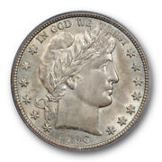 1906 S 50c Barber Half Dollar Pcgs Ms 64 Uncirculated Cac Approved Beautiful