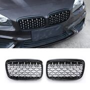 Diamond Style Car Front Racing Grills For Bmw F30 F35 F10 F11 F18 All Series