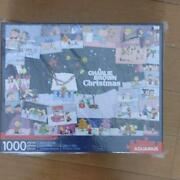 Snoopy Jigsaw Puzzle 1000 Piece Chary Brown Christmas