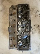 Ford 3400 Gas Tractor Working Engine Motor Cylinder Head W/ Valves