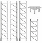Rohn 55ss030 55g Series 30and039 Self Supporting Tower Kit