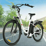 Max 26 350w Electric Bike Commute Bicycle City Ebike With Removeable Li-battery