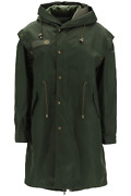 New Mr And Mrs Italy Parka With Removable Vest And Bolero Xpk0318 London Green Aut