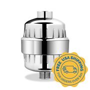 Aquabliss High Output Shower Filter W/ Replaceable Multi Stage Cartridge