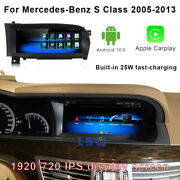 Car Gps Player Video Auto + Wireless Carplay For Mercedes Benz S Class 2005-2013