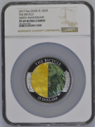 2017 S25 Cook Islands 5oz Silver Mother Of Pearl The Bicycle Ngc Pf69uc