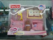 New Fisher Price Loving Family Dollhouse Nursery Sweet Sounds 2005