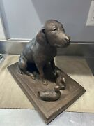 Merry Scotland Austin Production 1983 Labrador Dog With Ducklings Figurine