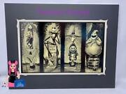 Disney Haunted Mansion Stretching Room Nightmare Before Christmas Print 14 X18