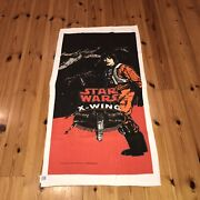 Star Wars X Wing Rogue Squadron 1997 Lucasfilm Towel A Very Rare Find Like New