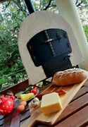 Mobile Wood-fired Oven Original Hungarian Handmade Outdoor-oven. Pizza Oven