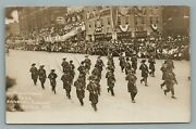 Philadelphia Pa Founder Week Historical Pageant Antique Real Photo Postcard Rppc