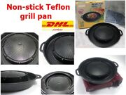 Non-stick Teflon Grill Panpork Panbbqused Gas Stovesthick Charcoal Grills.