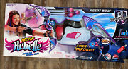 New Nerf Rebelle Agent Bow Purple Black Gray Secrets Spy Factory Sealed Ages 8+