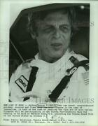 Press Photo Author George Plimpton In Toyota Pro-celebrity Race For Charity