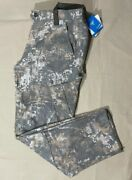 Columbia Men's Phg Gallatin Hunting Gear Camouflage Wool Cargo Pants, Size L