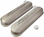 Proform 141-263 Engine Valve Covers Tall Style Die Cast Gray For Gm Ls New
