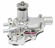 Tuff Stuff 1468a Ford Water Pump Drivers Side Inlet Chrome