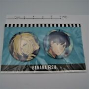 Banana Fish New Ash And Eiji Big Can Badge Licensed From Japan By Fedex