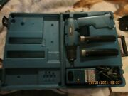 Gently Used/makita 12v Cordless Drill W/2 1 Yr Old 9.6 Batteries W/2nd 9.6 Drill