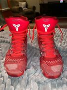 Mens Kobe Bryant 9 Elite Christmas Shoes Size 9.5. Preowned, In Good Condition