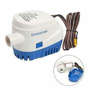 Automatic Submersible Boat Bilge Water Pump 12v 1100gph With Float Switch Usship