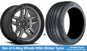 Fuel Winter Alloy Wheels And Snow Tyres 20 For Nissan Pathfinder [mk2] 95-05