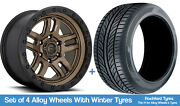 Fuel Winter Alloy Wheels And Snow Tyres 20 For Nissan Navara [d22] 97-04