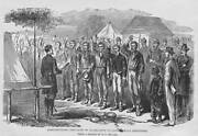 Administering Oath Of Office To Confederate Prisoners 1863 Civil War Photo