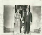 1975 Press Photo Noma's Board Of Directors President Robert Peyroux With Wife
