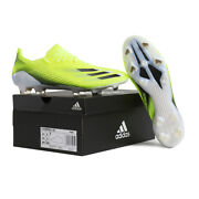 Adidas X Ghosted.1 Fg Firm Ground Football Boots Soccer Cleats Neon Green Fw6898