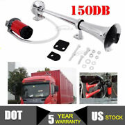 150db 12v Single Train Trumpet Car Air Horn Compressor With Super Loud For Cars
