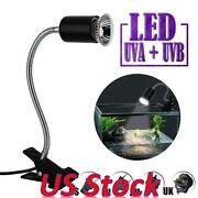 Us Pet Reptile E27 Heating Light Clamp Lamp Holder With Clip Lamp Stand Tools