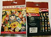 Disney Collectible Pin Pack Nesting Dolls Mystery Bag Of 5 Pins Sealed New