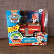 Paw Patrol Pup Pad Rc Marshall Remote Control Fire Truck 2-way Steering Kids Age
